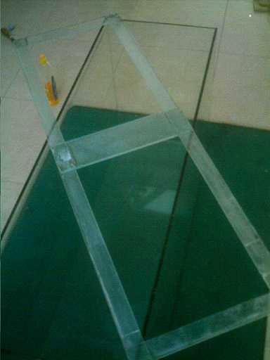Séparation en compartiment de l'aquarium