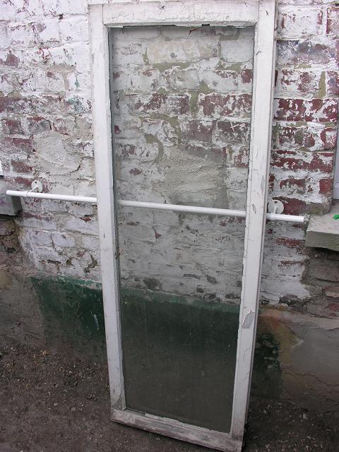Récupe d'une vieille fenêtre